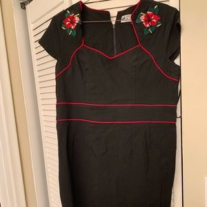 Retro wiggle dress